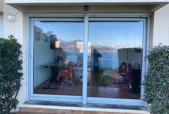 Baie vitrée coulissante