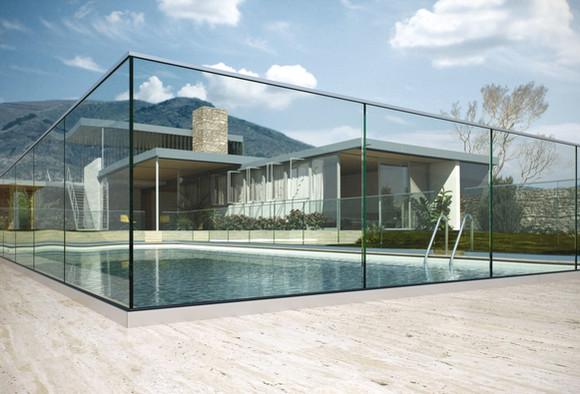 Mur de verre
