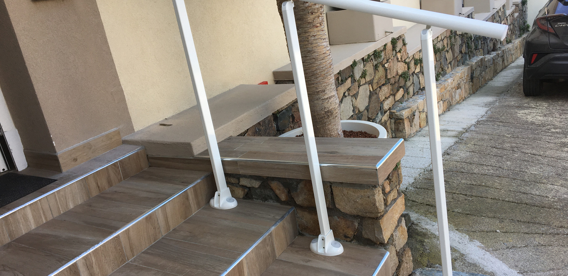Rambarde d'escaliers