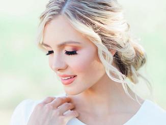 Summery bridal makeup 😍💓 • • • #bridal