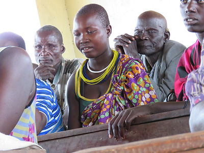EDEAN participants in Karamoja, Uganda