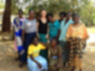 Virginia Williams and IRC Cleaning Ladies and Dance Troupe, Juba, South Sudan