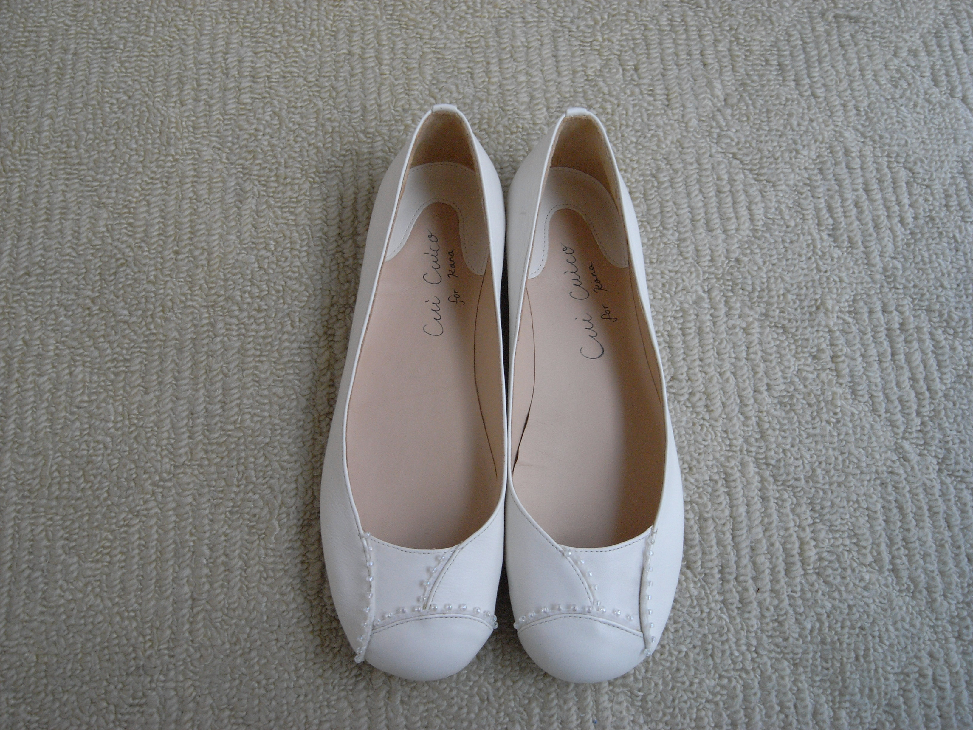 wedding ballet shoes