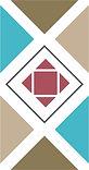 multi-color logo badge