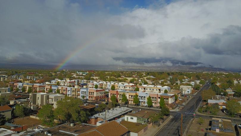 Somewhere over a rainbow...