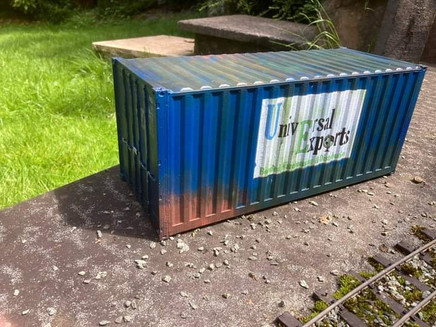 G scale 20' Shipping Container