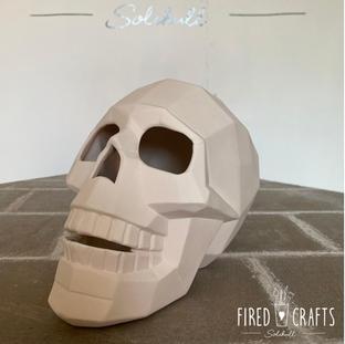 Faceted Skull - £20