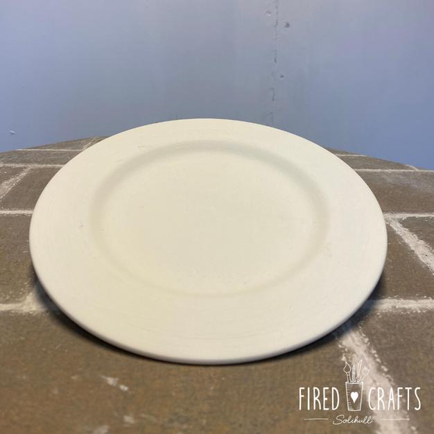 Rimmed Dinner Plate - £12