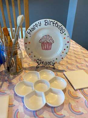 Paint Your Own Pottery Birthday Parties