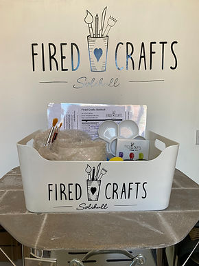 Fired Crafts Take Away Pottery Kits