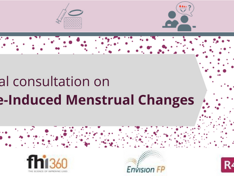 Resources from the Virtual Technical Consultation on Contraceptive-Induced Menstrual Changes