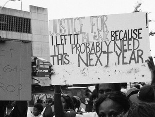 """Injustice anywhere is a threat to justice everywhere"""