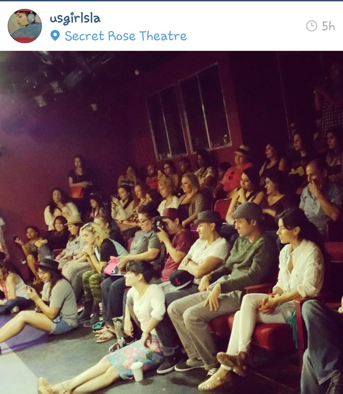 Summer Wayans, speaker, audience