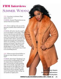 Summer Wayans Model Actress Philanth