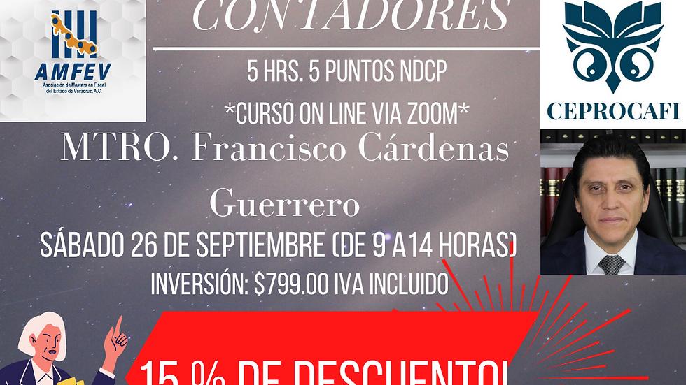 CÓDIGO FISCAL DE LA FEDERACIÓN PARA CONTADORES