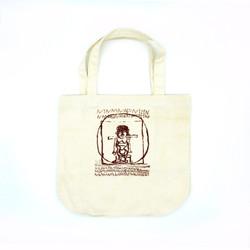 Vitruvian Man_Tote Bag