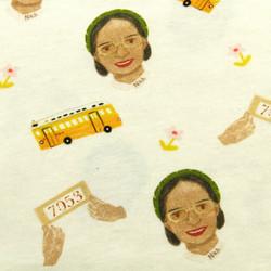 Rosa Parks baby onesie