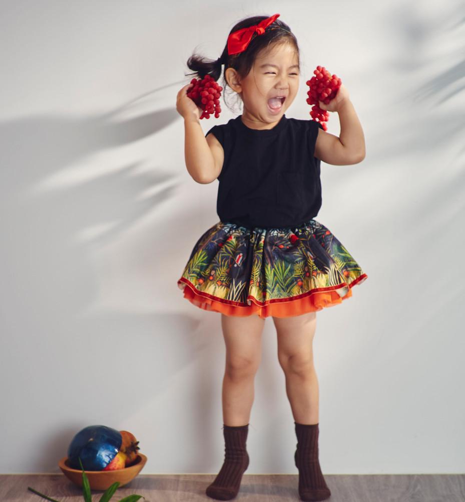 Raw Raw Party kids tutu skirt