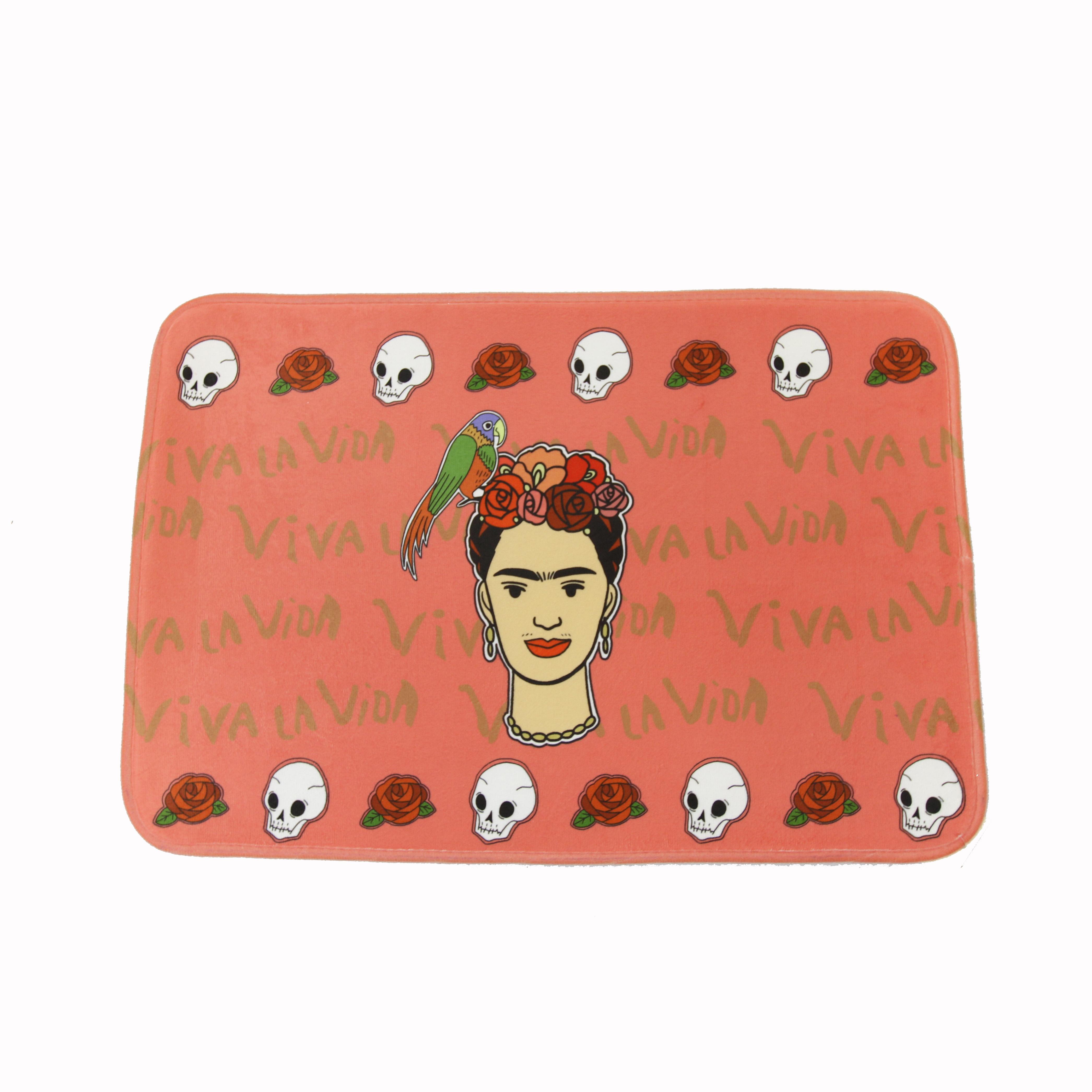 Frida Kahlo bath mat