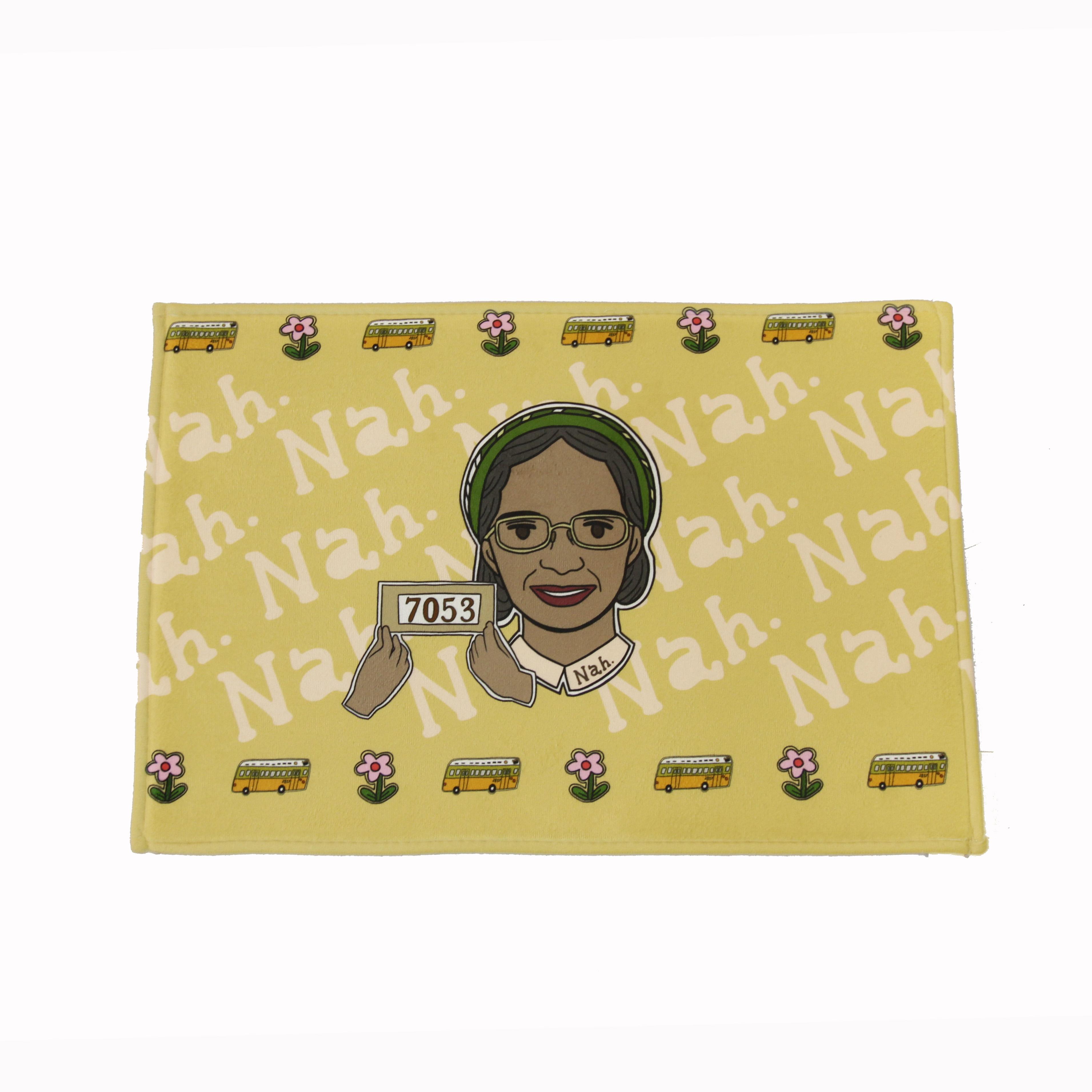 Rosa Parks bath mat