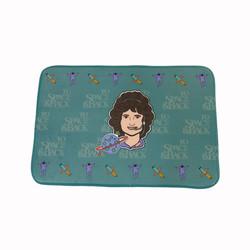 Sally Ride bath mat