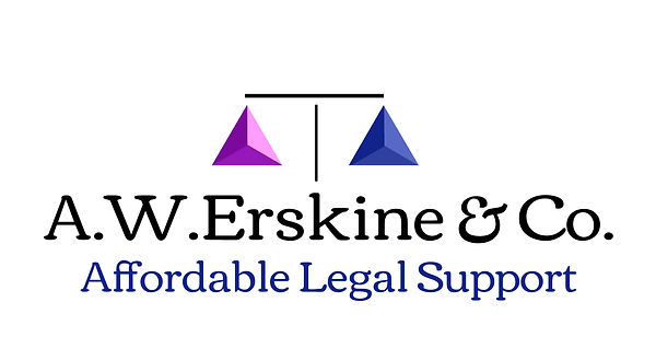 A.W.Erskine & Co. logo Solcitor lawyer