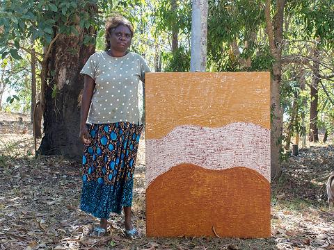 Michelle Woody with Ngiya Murrakupupuni_