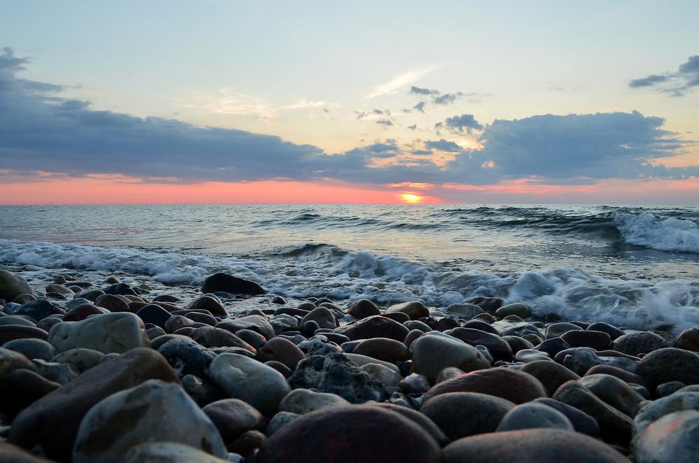 ÜBer Wahrnehmung, Kieselsteine und den Ozean