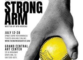 World Premier of Strong Arm! A new play by Wyn