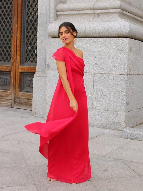 Robe Eleanor Rouge