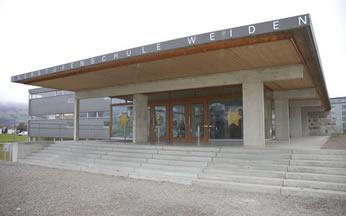 Schulhaus Weiden