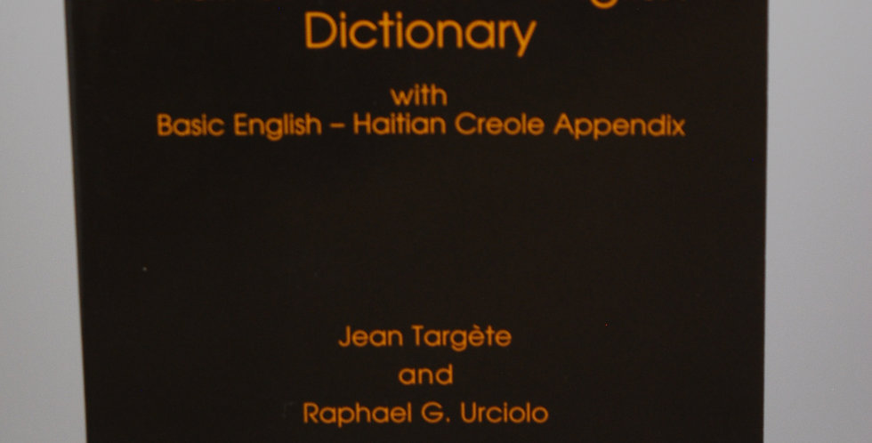 Haitian Creole-English Dictionary (Softbound)