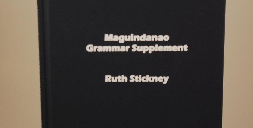 Maguindanao Grammar Supplement