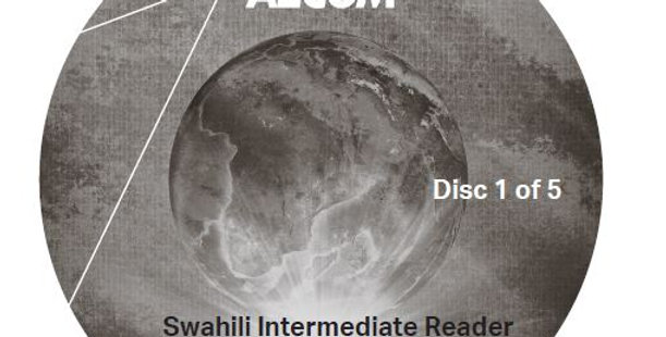Swahili Intermediate Reader - Audio CD