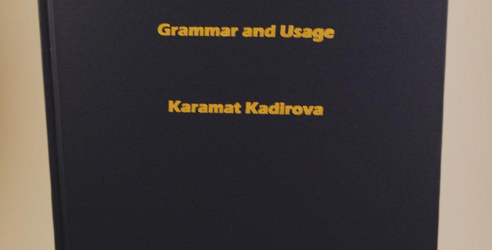 Uzbek Verbs Grammar and Usage
