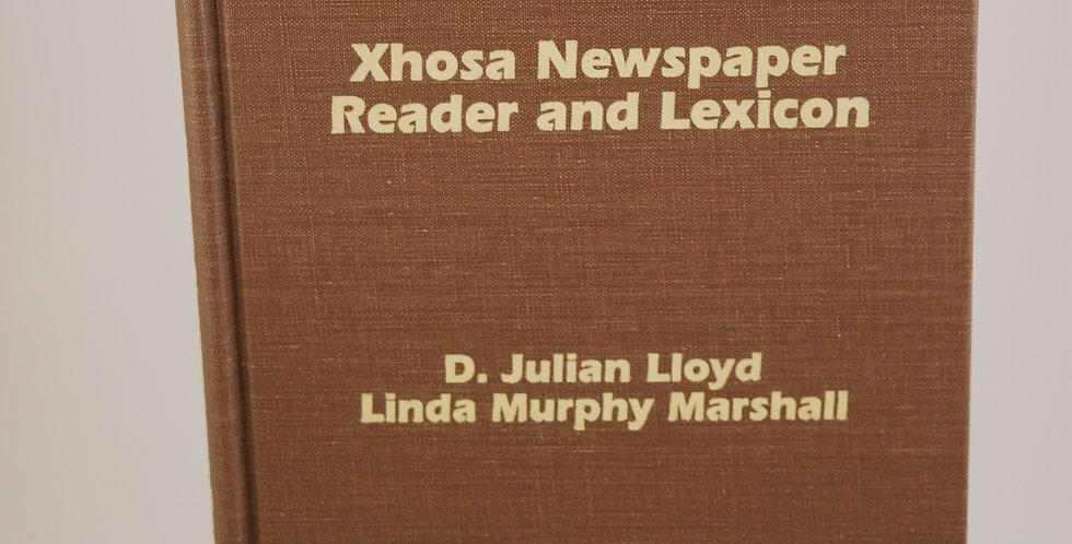Xhosa Newspaper Reader and Lexicon