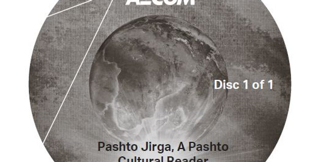 Pashto Jirga, A Pashto Cultural Reader - Audio CD