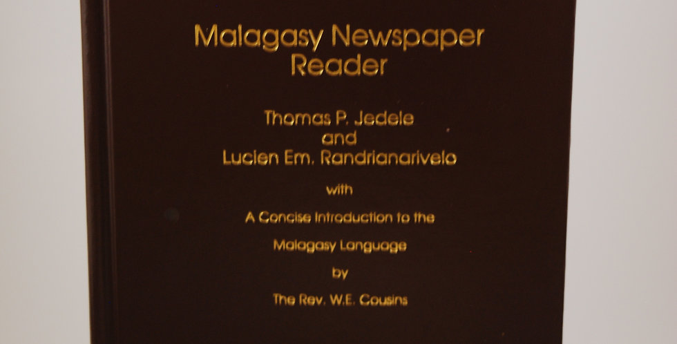 Malagasy Newspaper Reader