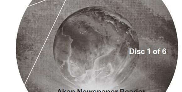 Akan Newspaper Reader - Audio CD