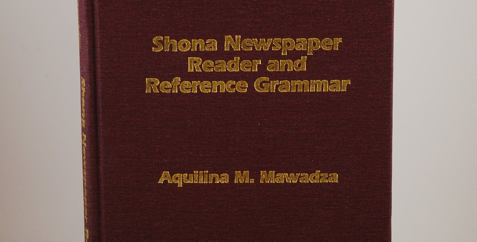 Shona Newspaper Reader and Reference Grammar