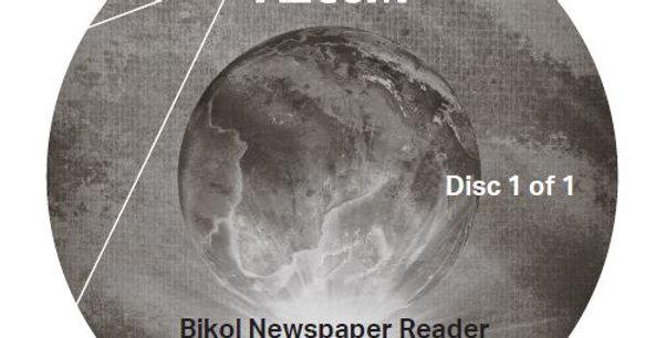 Bikol Newspaper Reader - Audio CD
