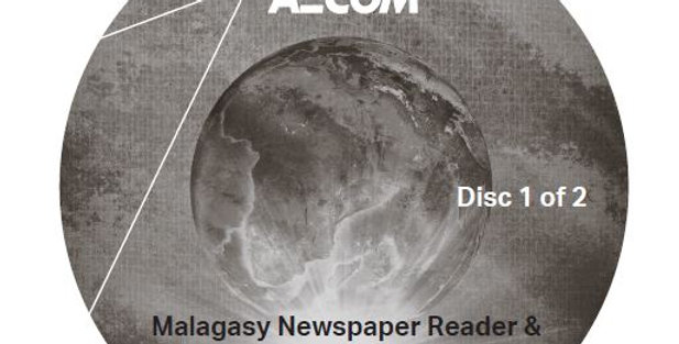 Malagasy Newspaper Reader and Grammar - Audio CD