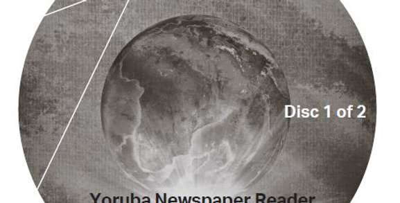 Yoruba Newspaper Reader - Audio CD