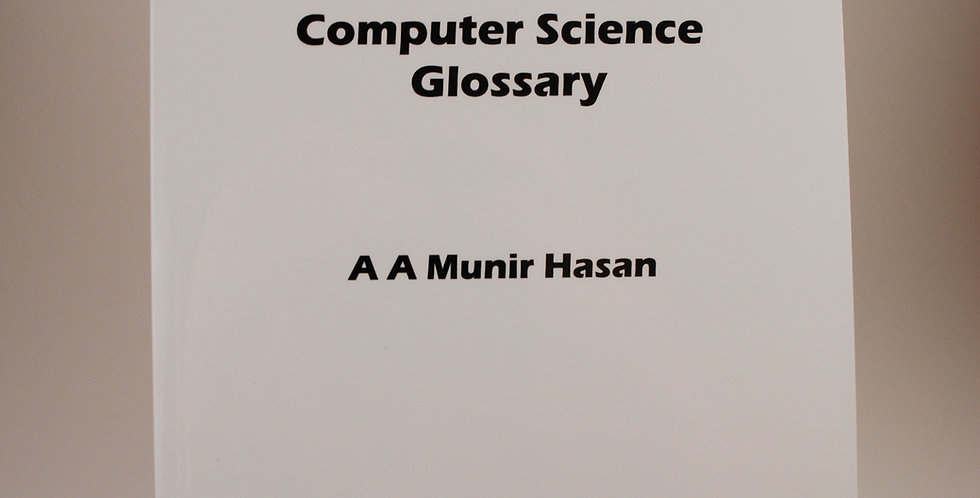 Bengali-English English-Bengali Computer Science Glossary