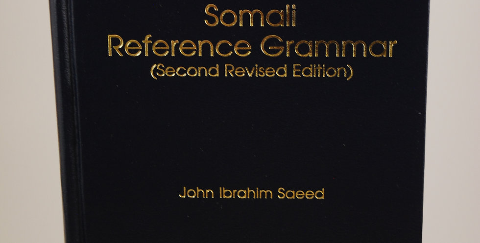 Somali Reference Grammar: Second Revised Edition