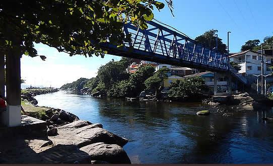 Ponte metálica da Barra