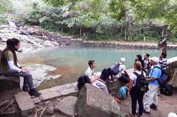 poço e cachoeira