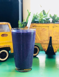BLUE SMOOTHIE PHOTO