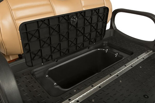 Hidden Rear Seat Storage