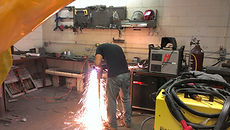 Fabricating steel for shade structure